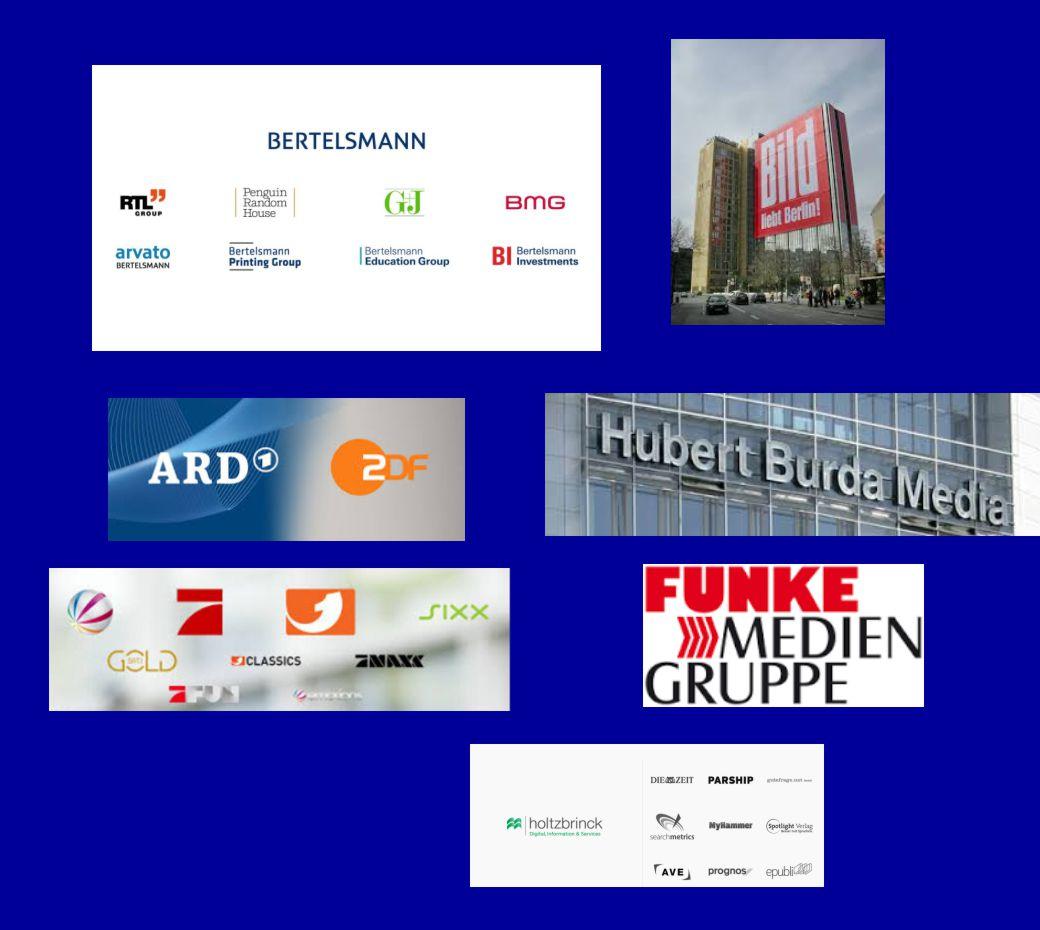 Pressefreiheit? Die Macht der Medienmogule Bertelsmann und ...