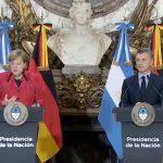 Merkel in Argentinien:  Menschenrechtsverletzungen durch argentinische Regierung, die aus Investmentbankern besteht!  Investitionen bis zu 200 Mrd. US$ geplant
