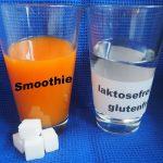 """""""Health Food"""" - Zuckerbomben Smoothies - genauso viel Zucker drin wie in Coca Cola und Mineralwasser""""laktosefrei"""" und  """"glutenfrei""""- der Slogan macht es möglich!"""