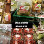 Plastik-Pest! Stoppt den Verkauf von Obst und Gemüse in Plastikverpackungen! – The plastic plague! Stop plastic packaging