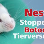 Ihnen war nicht bekannt, dass Galderma zu Nestlé gehört? Nestlé lässt Tausende Tiere für Botox leiden