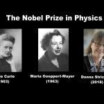 """The Nobel Prize in Physics! Congratulations Donna Strickland -  """"Wir sollten die Frauen in der Physik feiern, denn es gibt sie tatsächlich."""""""