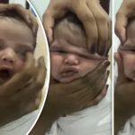 Baby wird von kichernden Krankenschwestern in einem furchterregenden Video misshandelt!