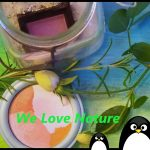 """""""We Love Nature"""" Naturkosmetik ist die beste Wahl – weil wir es uns wert sind – Please use natural cosmetic!"""