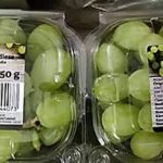 Verrückt - Weintrauben aus Indien - nicht nur mit Pestiziden sondern auch in 250g-Plastikverpackungen