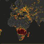 Die Welt steht in Flammen - In Angola und im Kongo brennt mehr kostbarer Regenwald, für den Profit, als im Amazonas - The world is going up in flames!