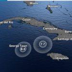 Die unruhige Erde - schwere Erdbeben in der Nähe der Küsten Kubas und Jamaikas - Troubled Planet - Earthquakes all over the Caribbean and Solomon Islands