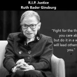 R.I.P. Ruth Bader Ginsburg: Nachruf auf die Richterin des Supreme Court- Ruth Bader Ginsburg: Obituary of the Supreme Court justice