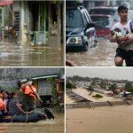 Es geht ums Überleben! Jetzt ist die Zeit zu handeln! Klimawandel lässt Zahl von Überflutungen und Zyklonen ansteigen und es wird noch schlimmer kommen - Climate change pushing floods, cyclones to new extremes, with worse to come